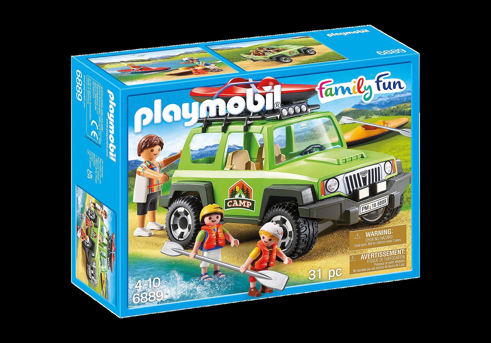 6889 Familjeterrängbil med kajaker zoom image3