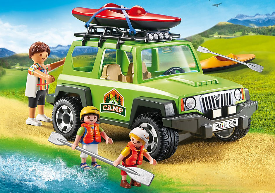 6889 4x4 de randonnée avec kayaks detail image 1