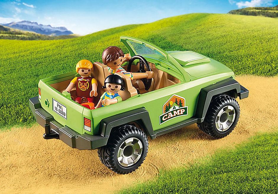 6889 Familieterreinwagen met kajaks detail image 6