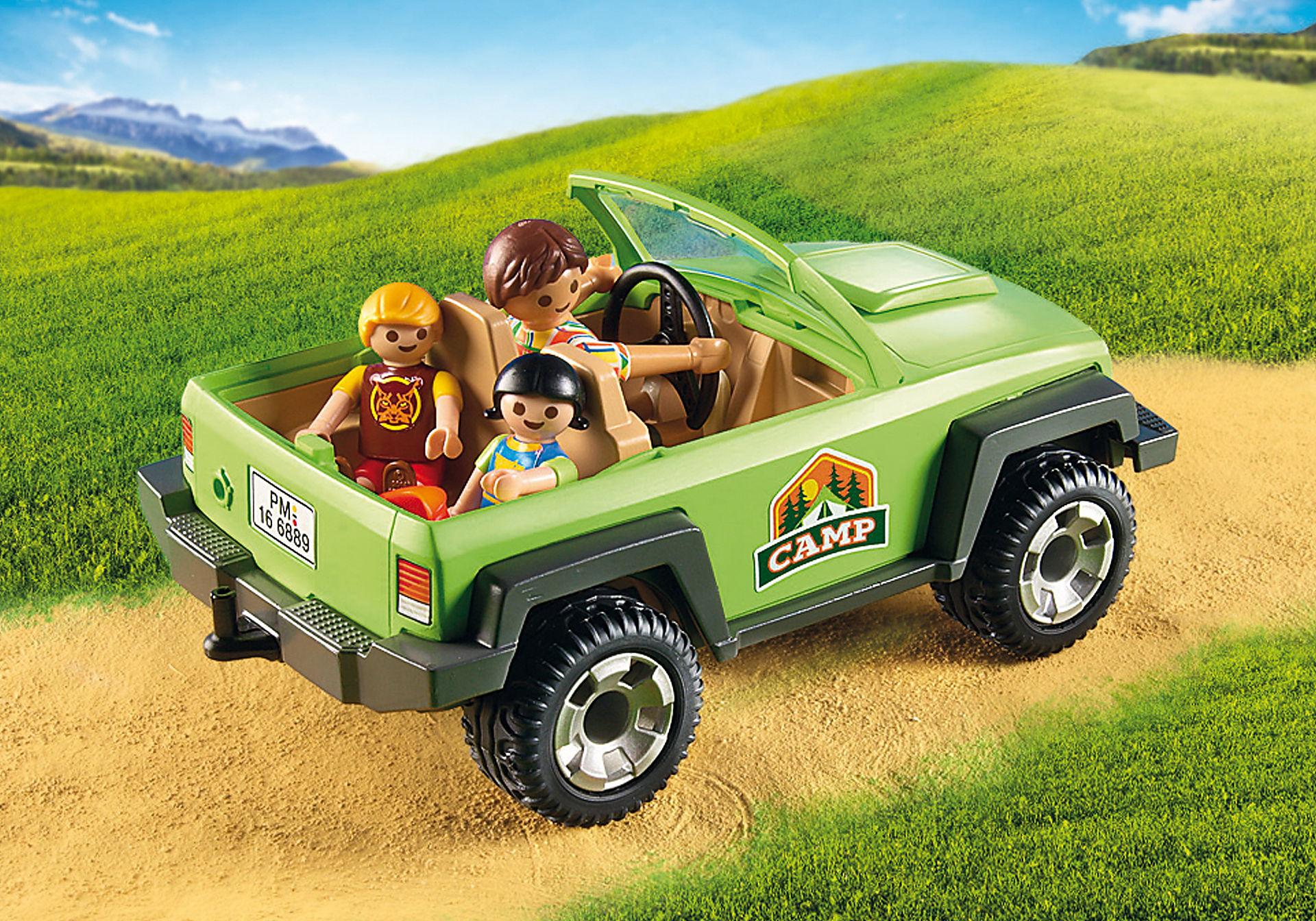 6889 Familieterreinwagen met kajaks zoom image6