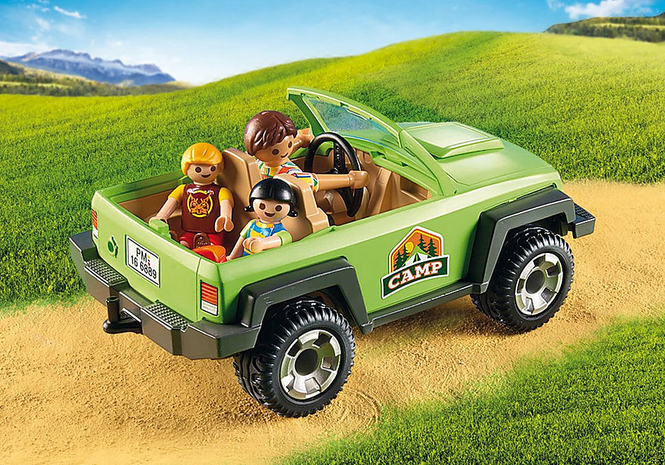 6889 Familjeterrängbil med kajaker detail image 6