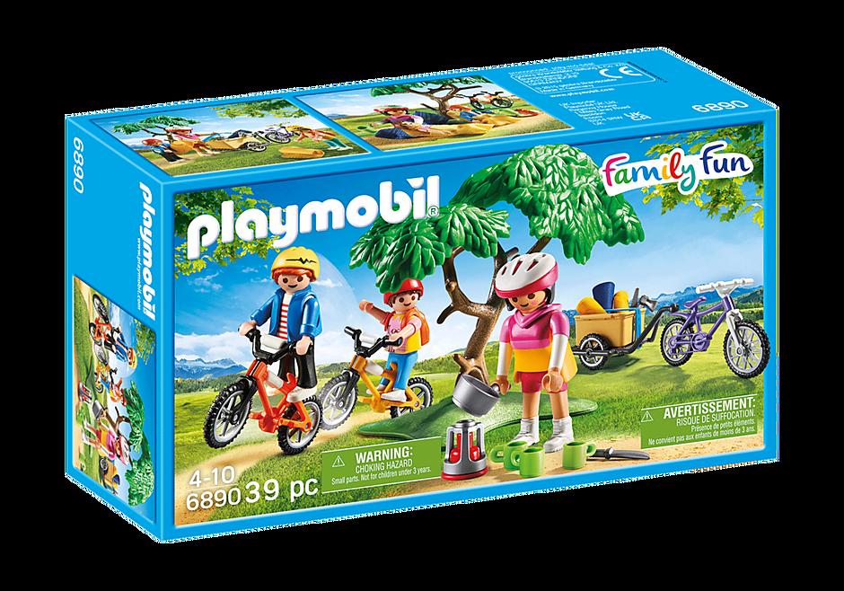 6890 Família com Bicicletas detail image 3