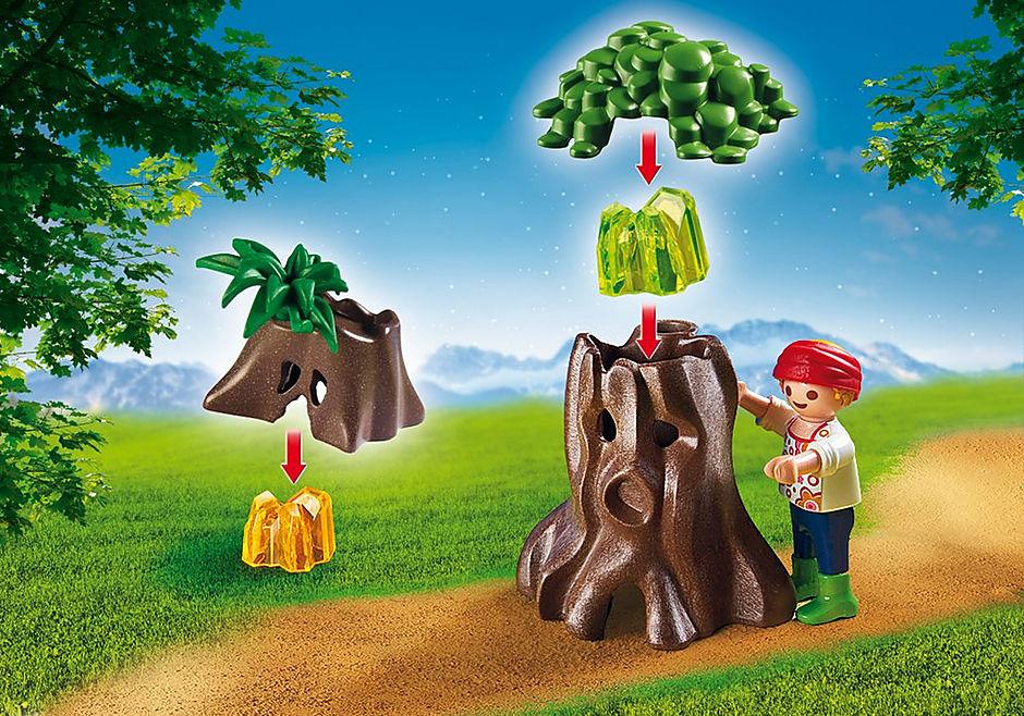 6891 Enfants avec végétation et lampe torche  detail image 6