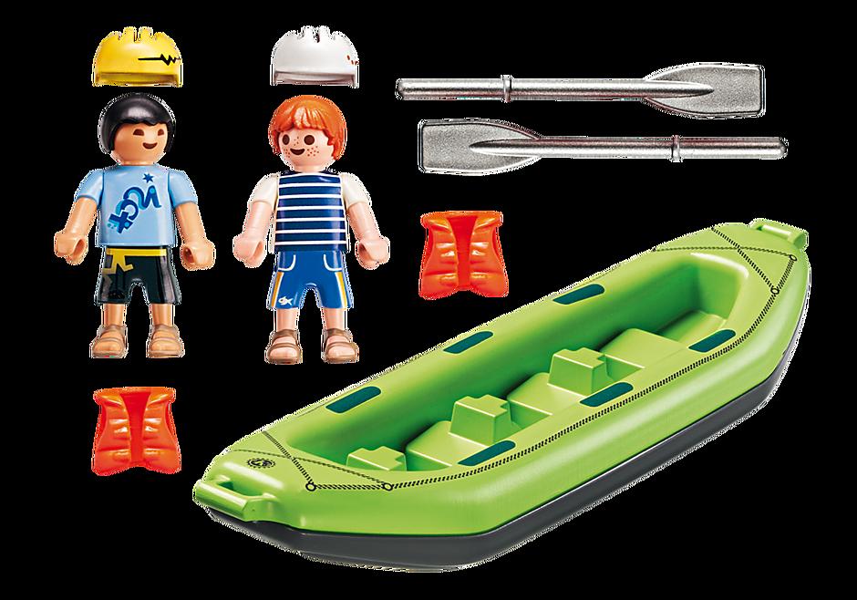 6892 Niños en Balsa Rafting detail image 4