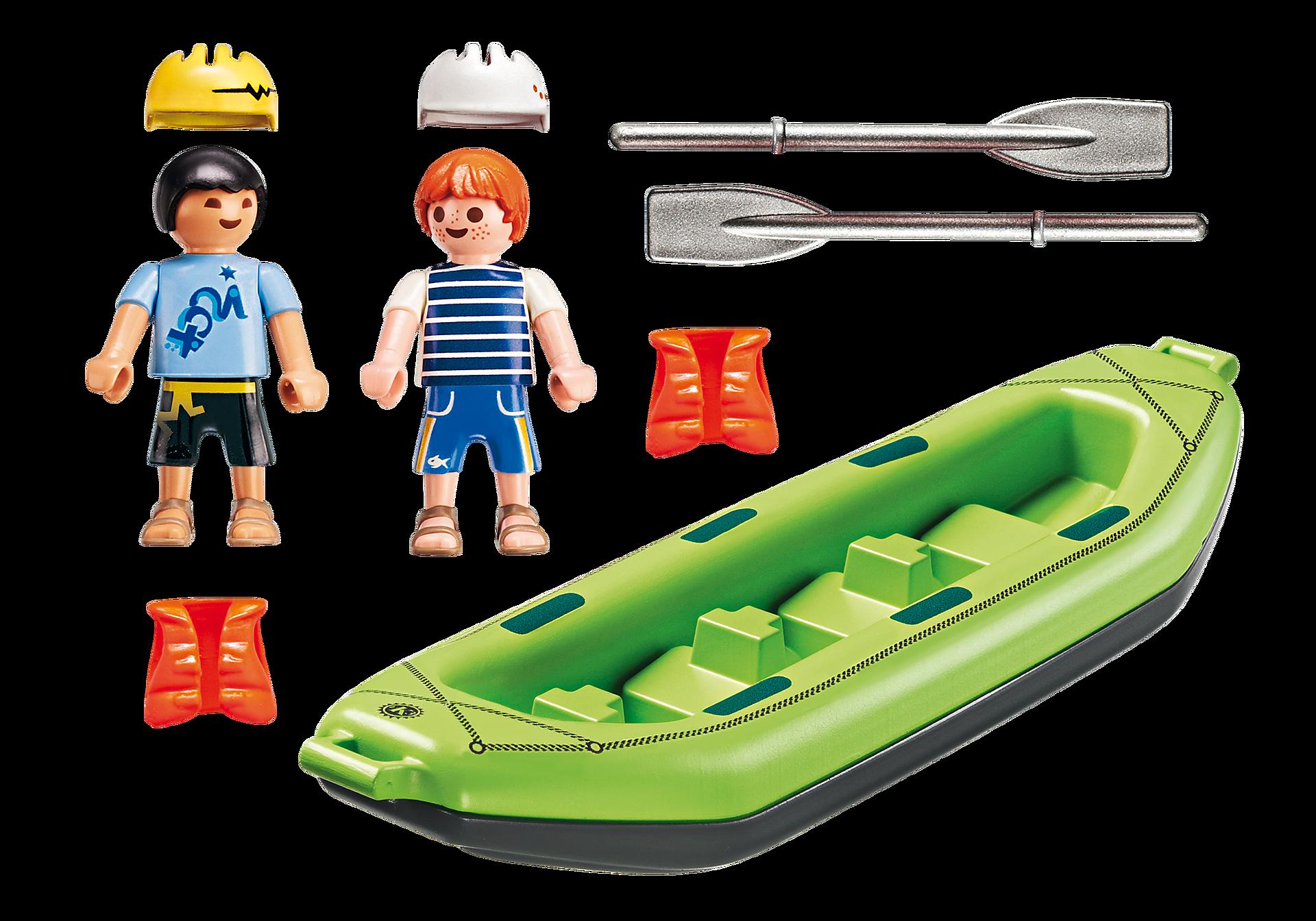 6892 Niños en Balsa Rafting zoom image4