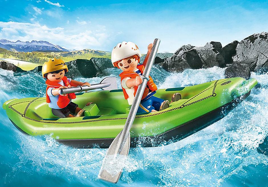 6892 Niños en Balsa Rafting detail image 1
