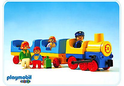 6900-A Train de voyageurs detail image 1