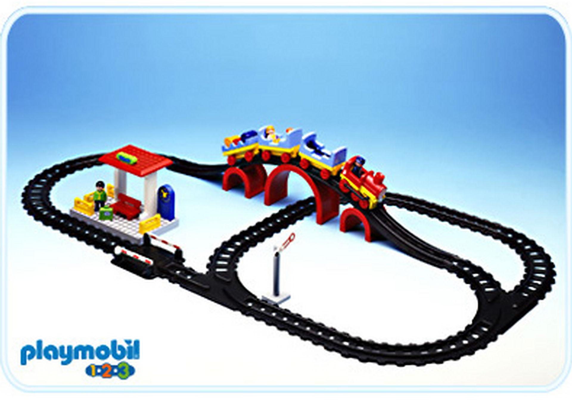 6905-A Eisenbahn/Bahnhof zoom image1