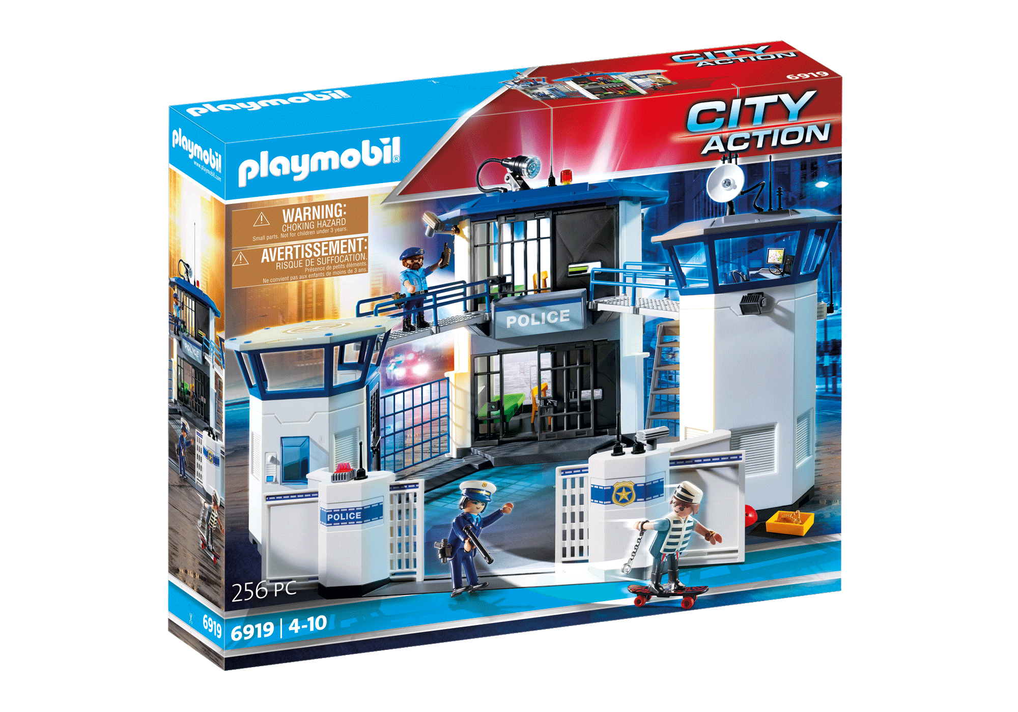 http://media.playmobil.com/i/playmobil/6919_product_box_front/Int. Polizei-Kommandozentrale mit Gefängnis