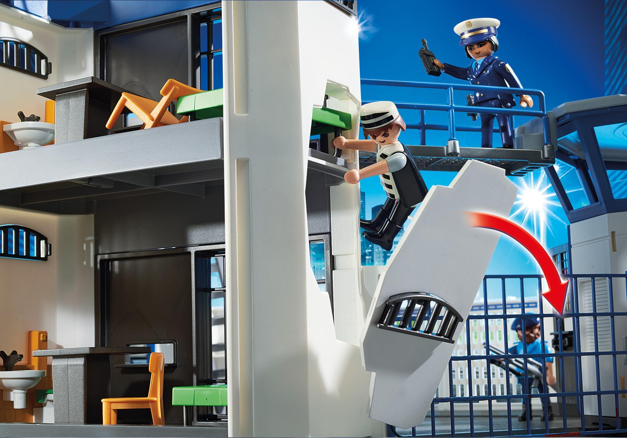 http://media.playmobil.com/i/playmobil/6919_product_extra1/Int. Polizei-Kommandozentrale mit Gefängnis