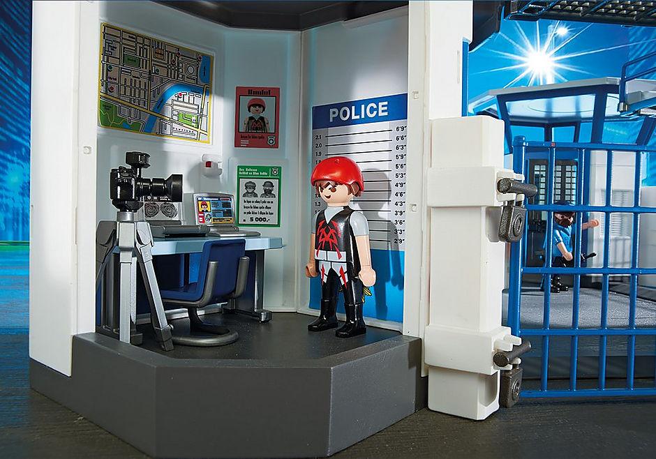 6919 Commissariat de police avec prison  detail image 5