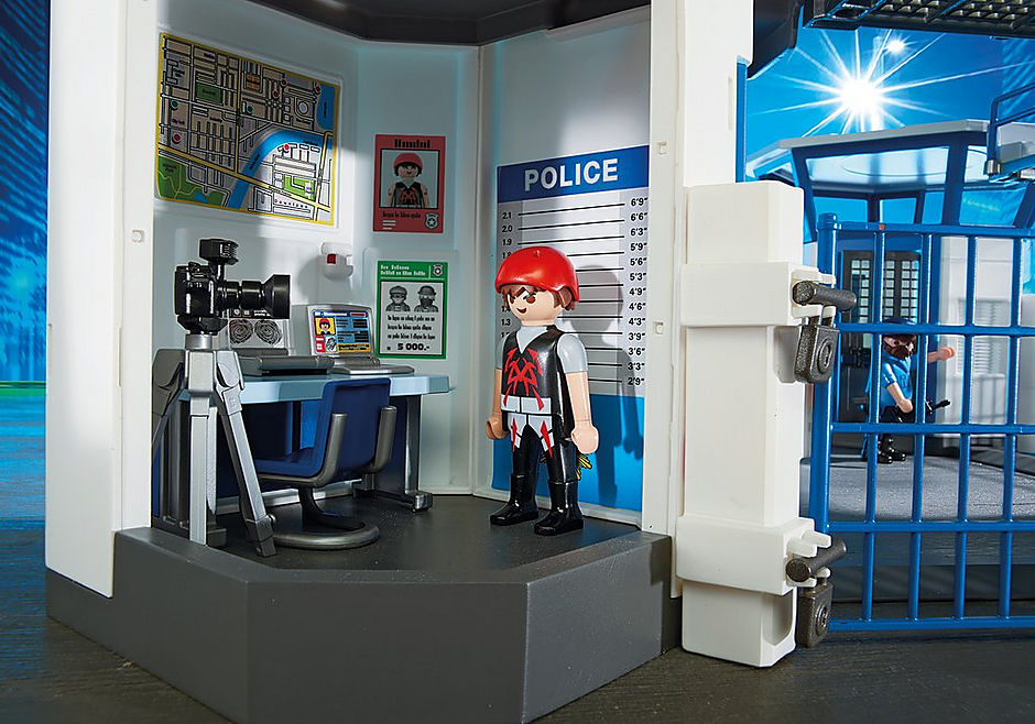 6919 Int. Polizei-Kommandozentrale mit Gefängnis detail image 5