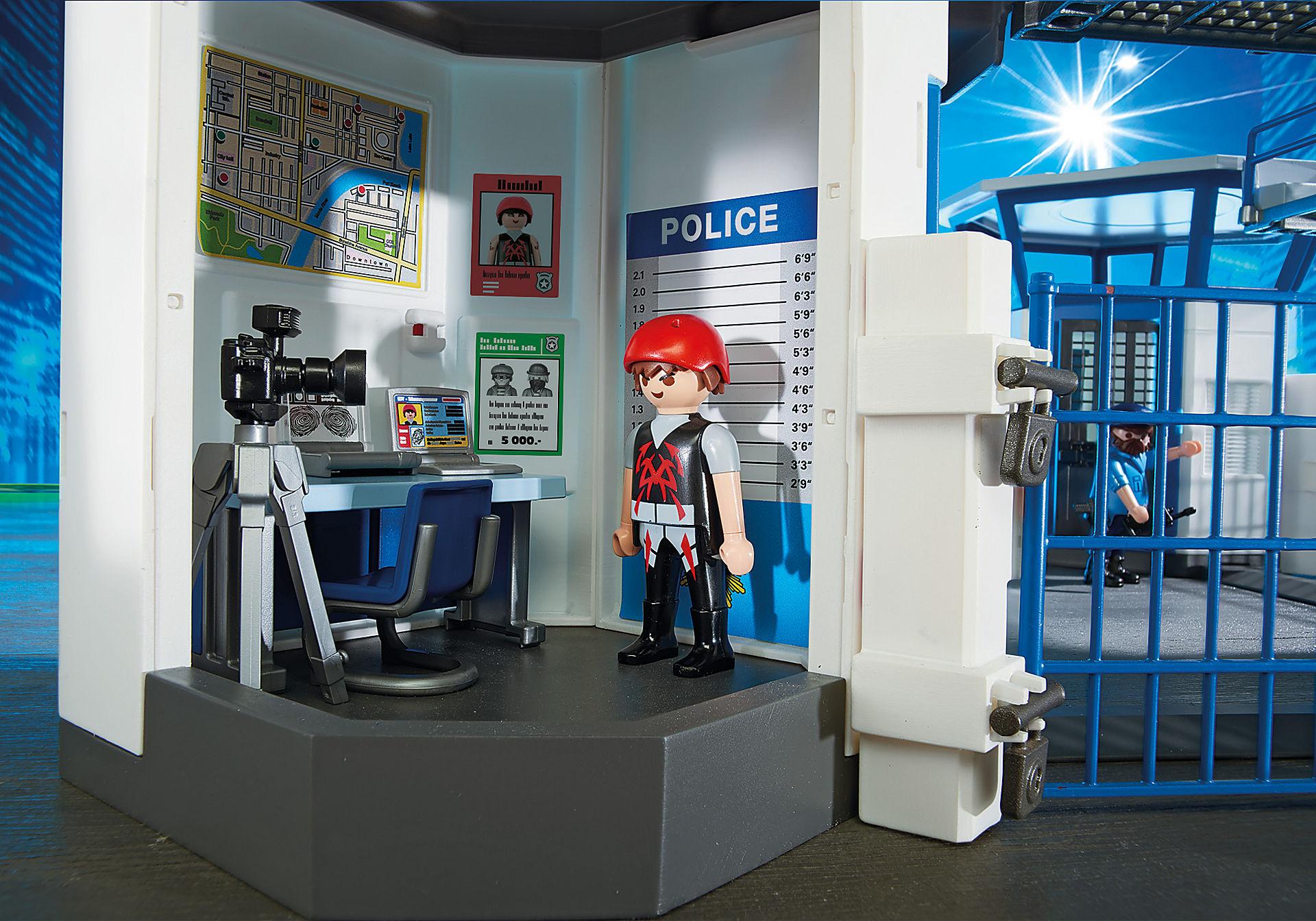 6919 Stazione della polizia con prigione zoom image5