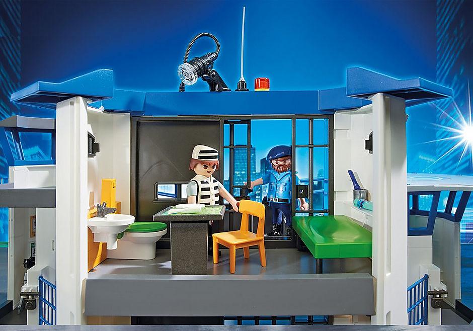 6919 Commissariat de police avec prison  detail image 7