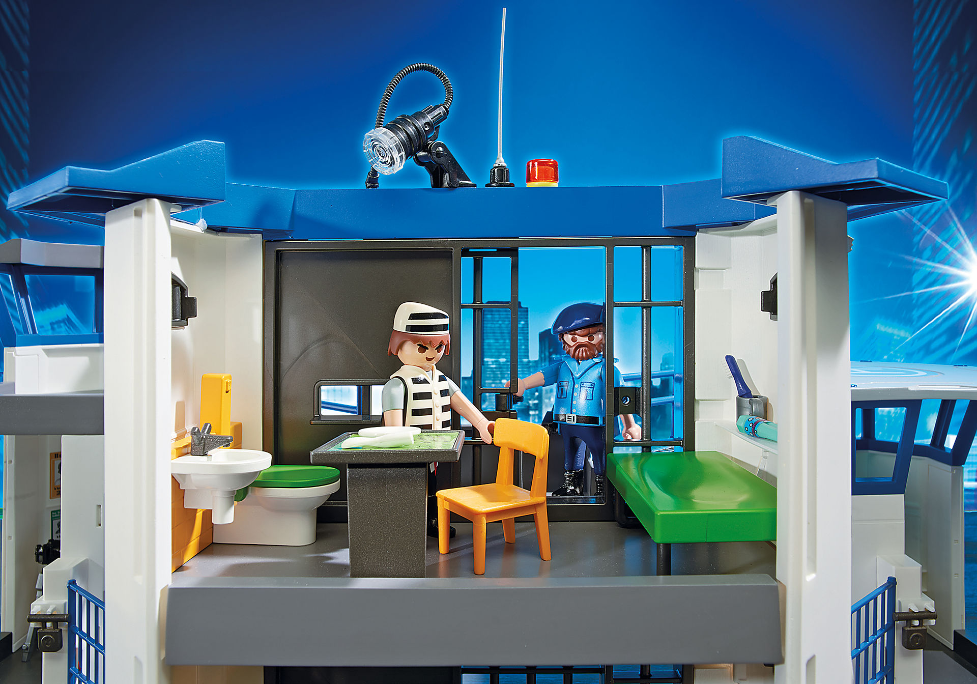 6919 Commissariat de police avec prison  zoom image7