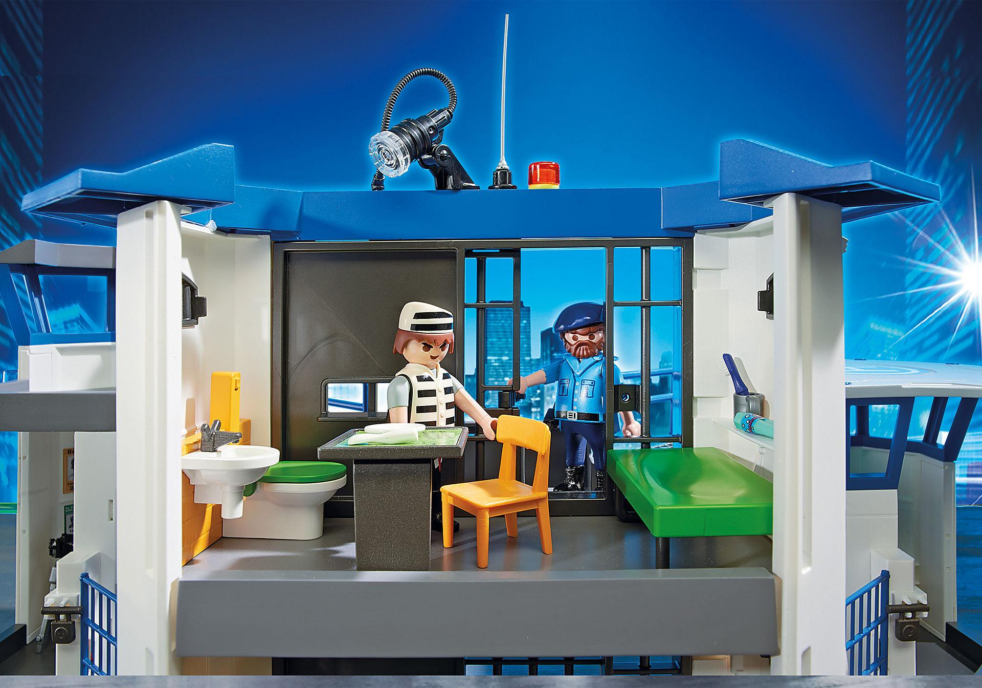 http://media.playmobil.com/i/playmobil/6919_product_extra4/Int. Polizei-Kommandozentrale mit Gefängnis
