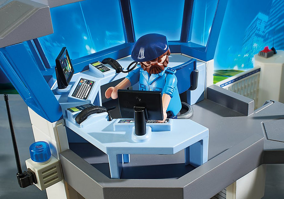 6919 Stazione della polizia con prigione detail image 8