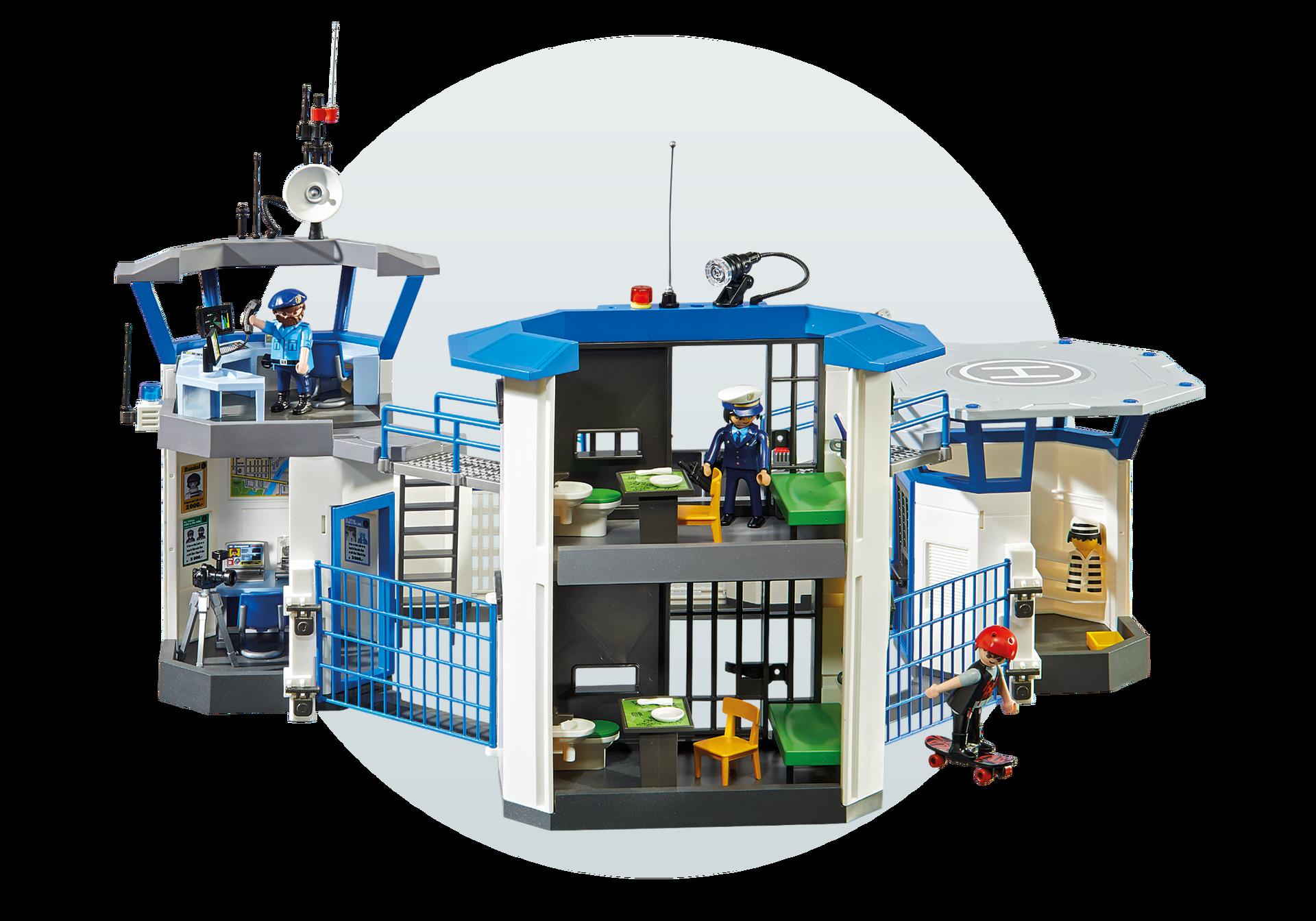 Police Headquarters With Prison 6919 Playmobil United Kingdom
