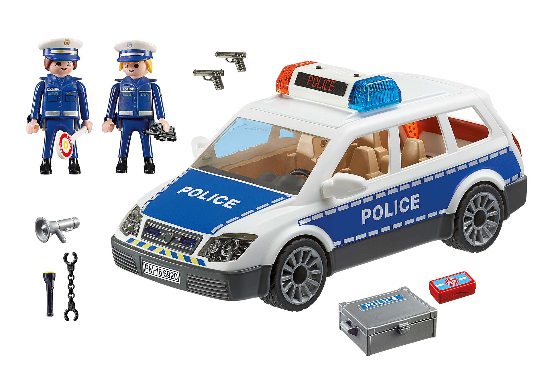 6920 Squad Car with Lights and Sound zoom image3
