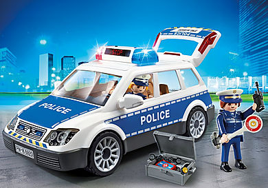 6920_product_detail/Coche de Policía con Luces y Sonido