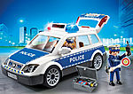 6920 Coche de Policía con Luces y Sonido