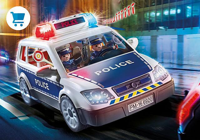 6920_product_detail/Polisbil med ljus och ljud