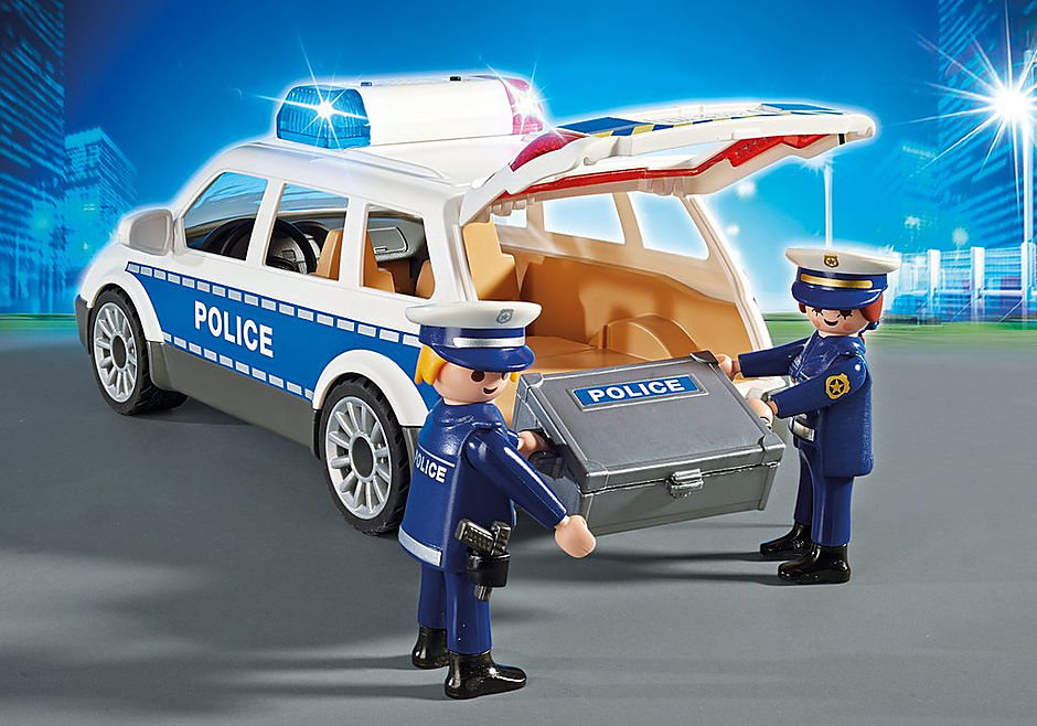 6920 Squad Car with Lights and Sound detail image 4