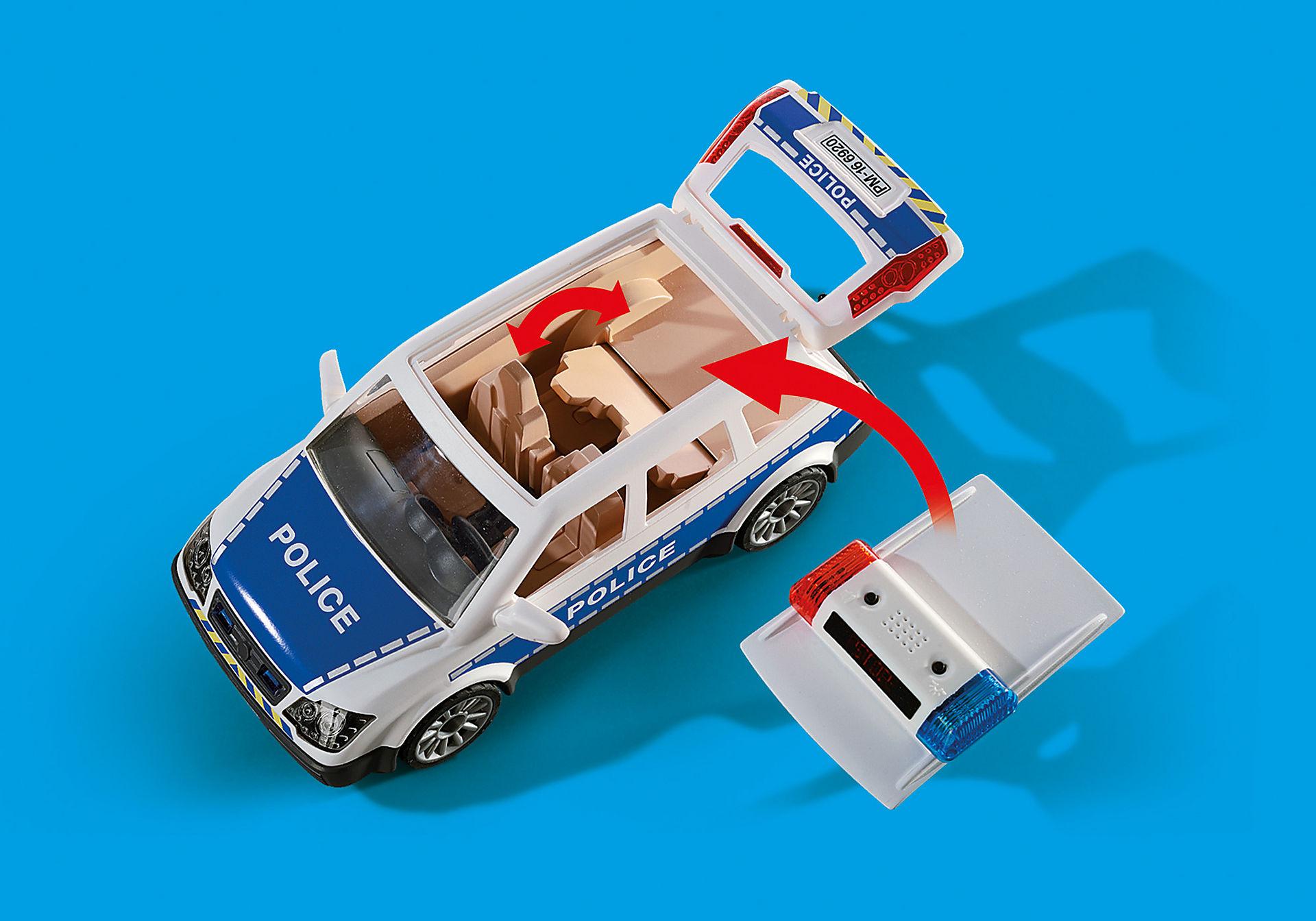 6920 Voiture de policiers avec gyrophare et sirène  zoom image4
