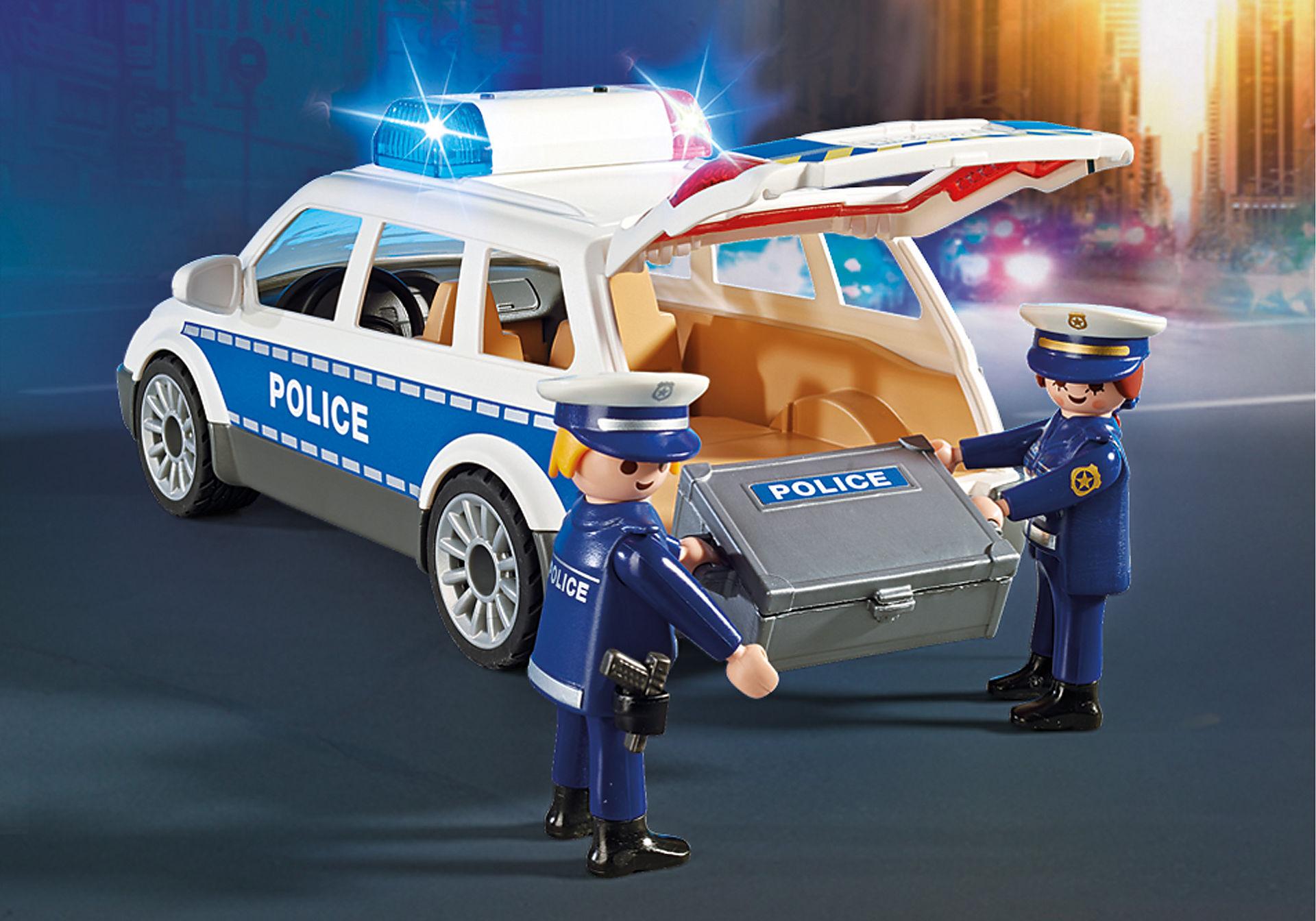 6920 Voiture de policiers avec gyrophare et sirène  zoom image5