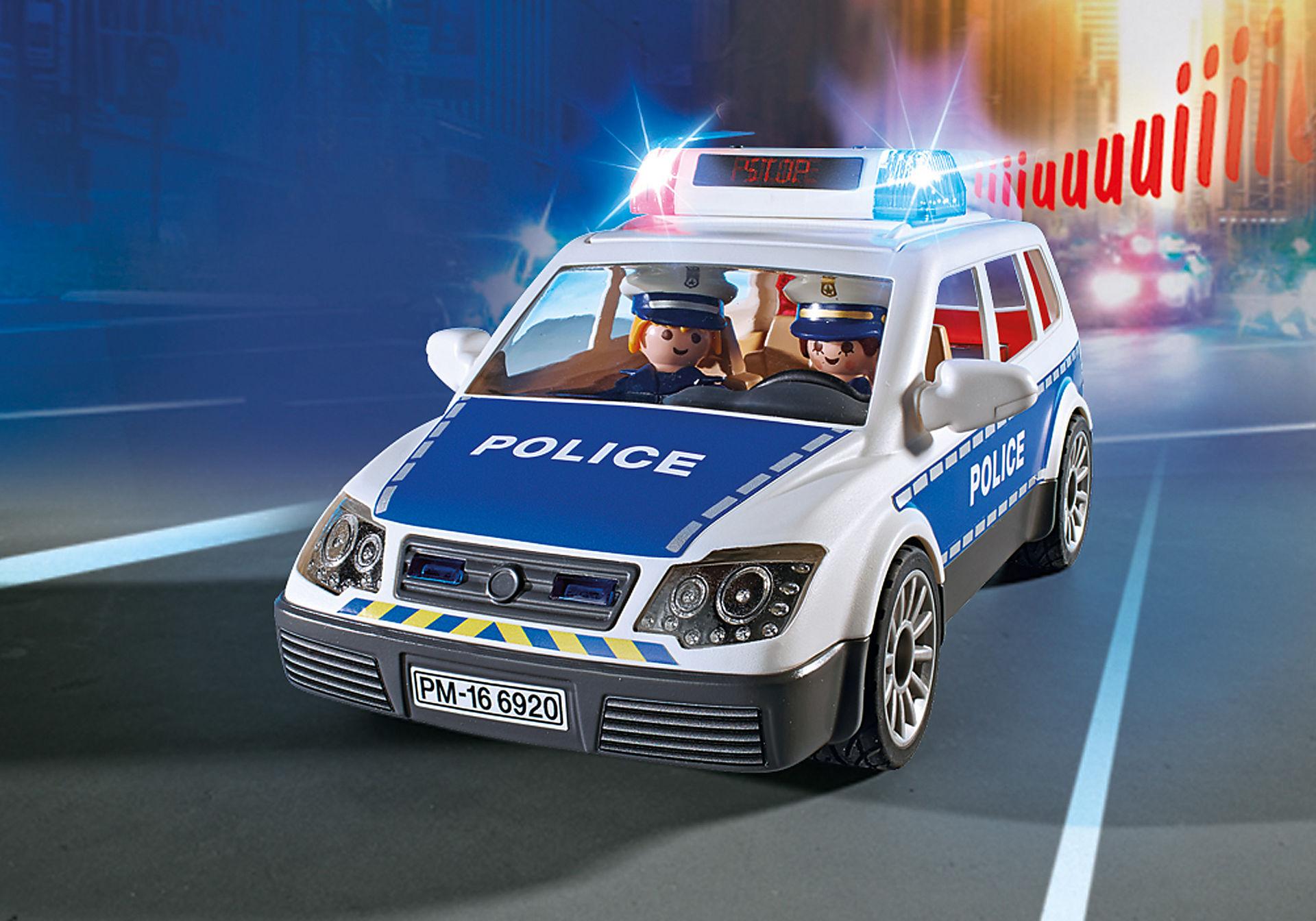 6920 Polisbil med ljus och ljud zoom image6