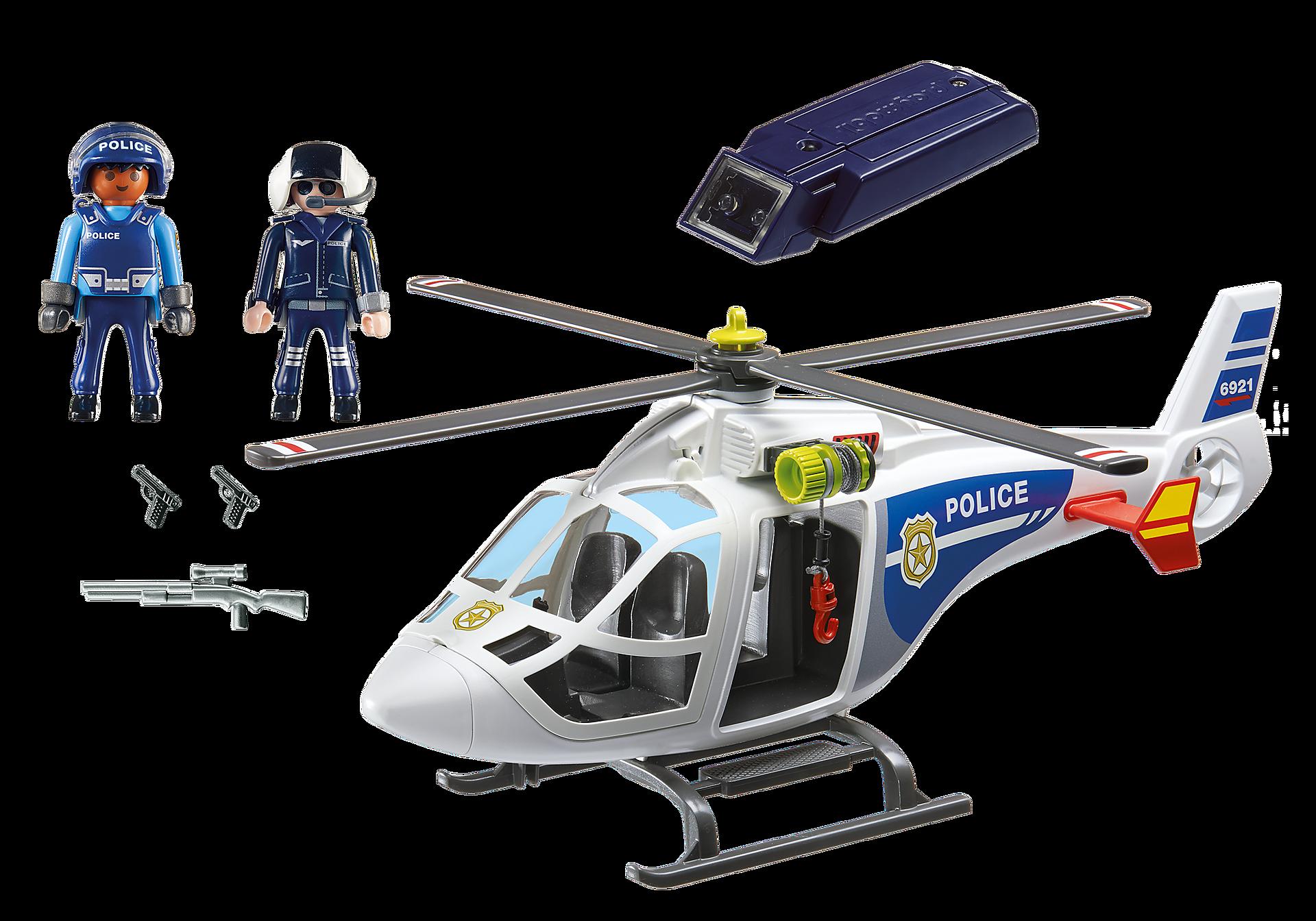 6921 Politiehelikopter met LED-zoeklicht zoom image4