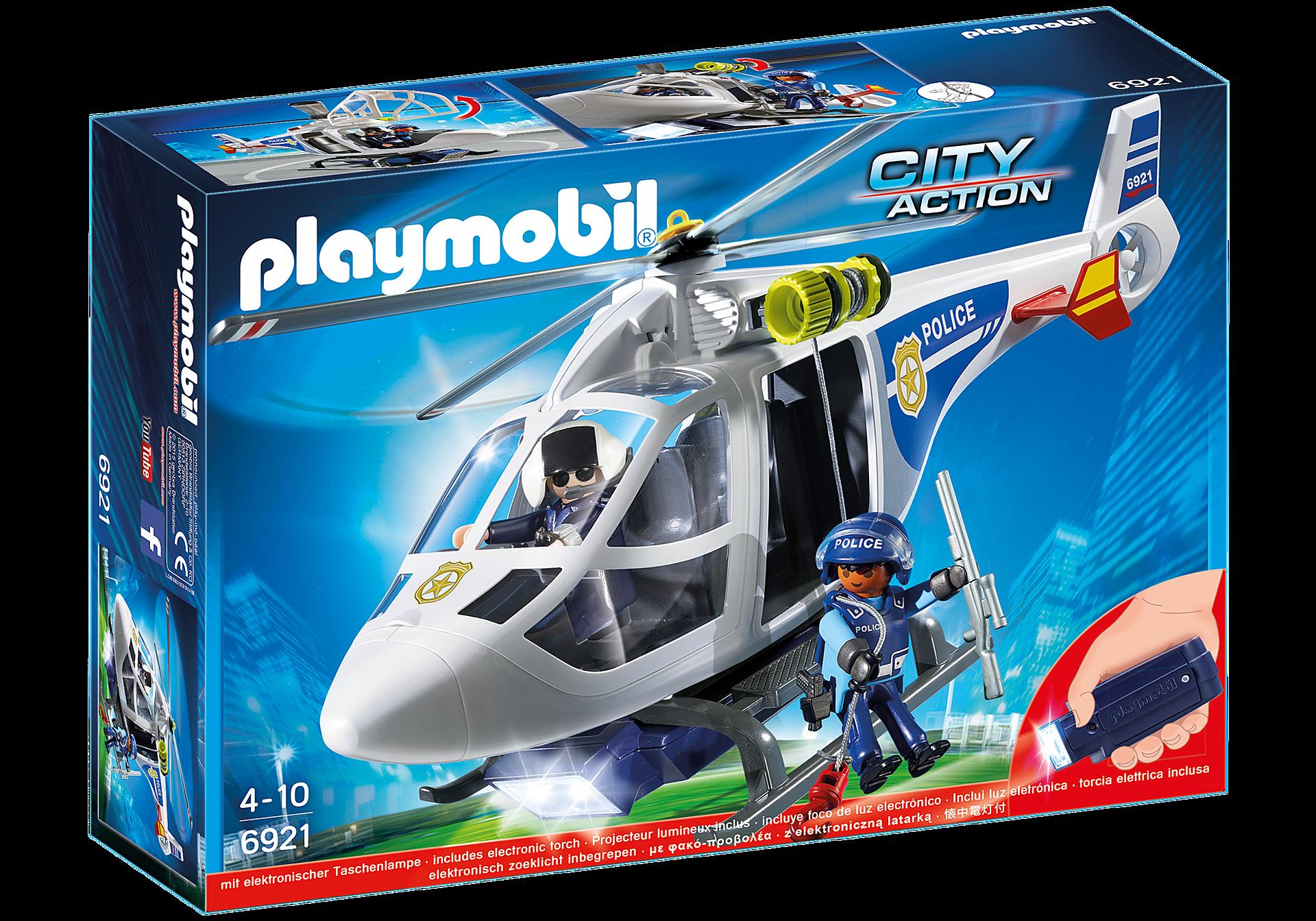 6921 Politiehelikopter met LED-zoeklicht zoom image3