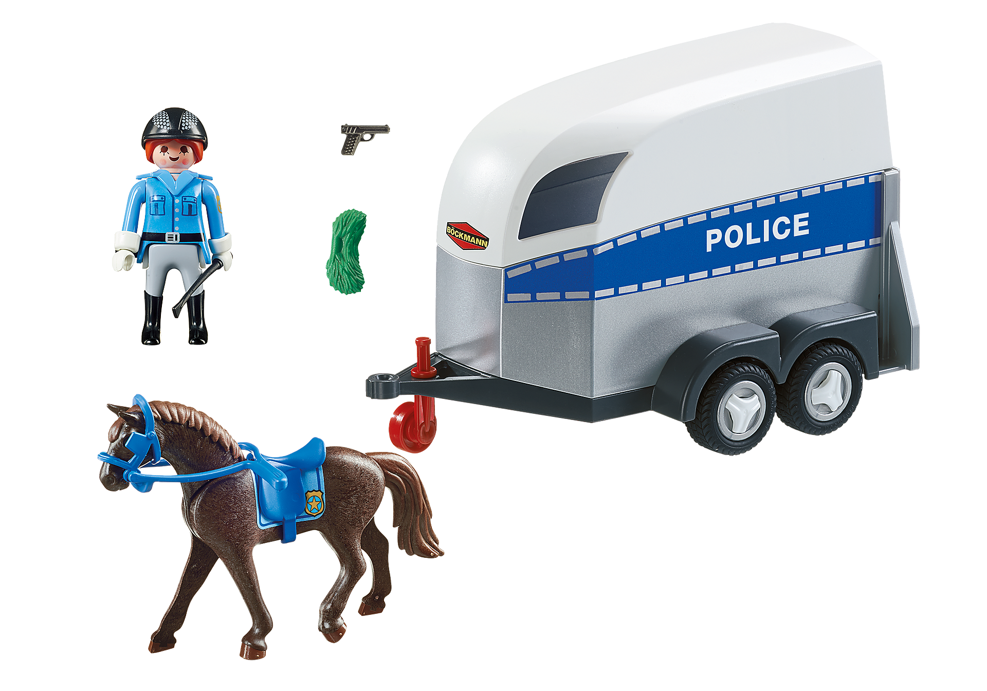 http://media.playmobil.com/i/playmobil/6922_product_box_back/Poliziotta a cavallo con rimorchio