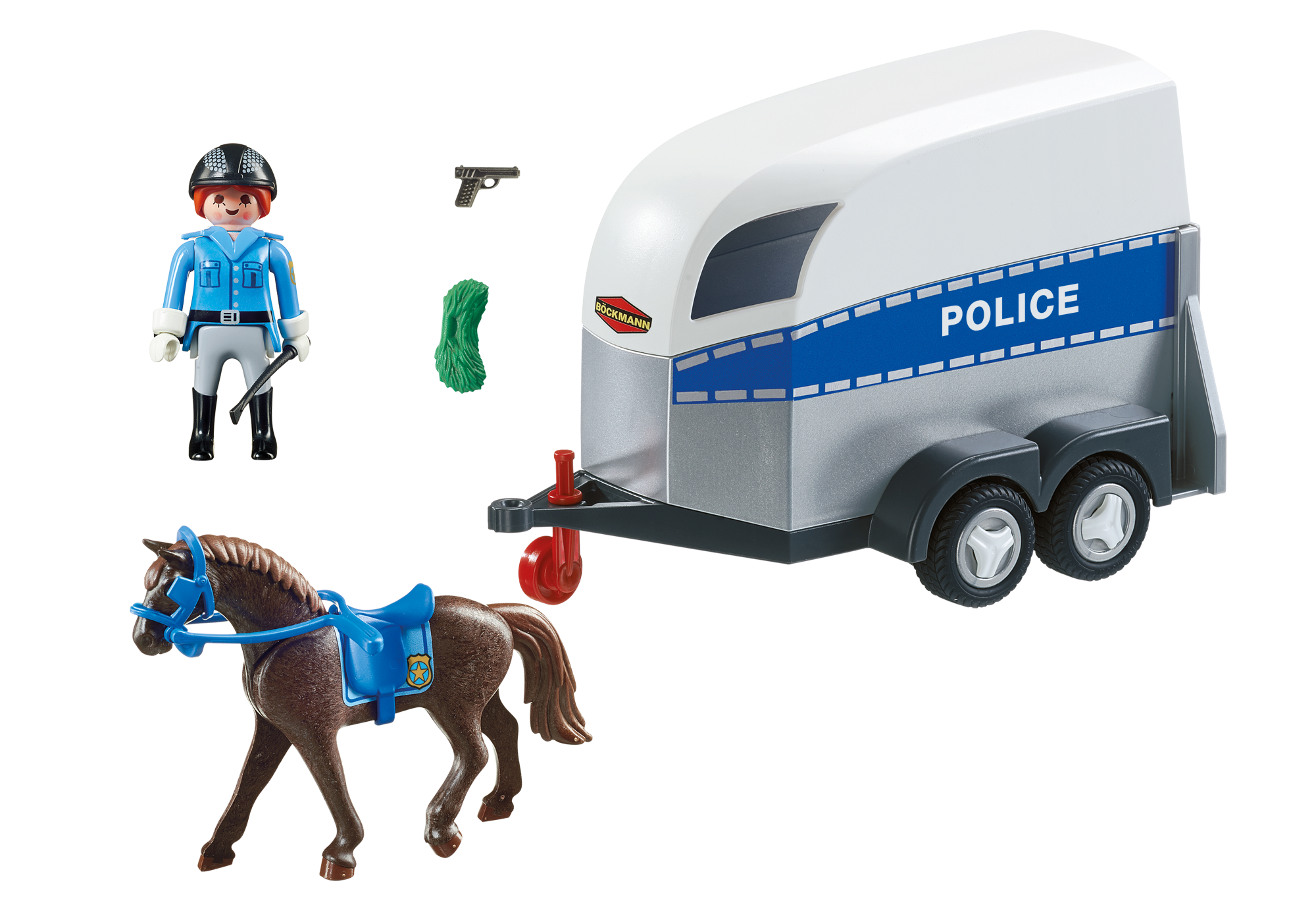 Int Berittene Polizei Mit Anh 228 Nger 6922 Playmobil