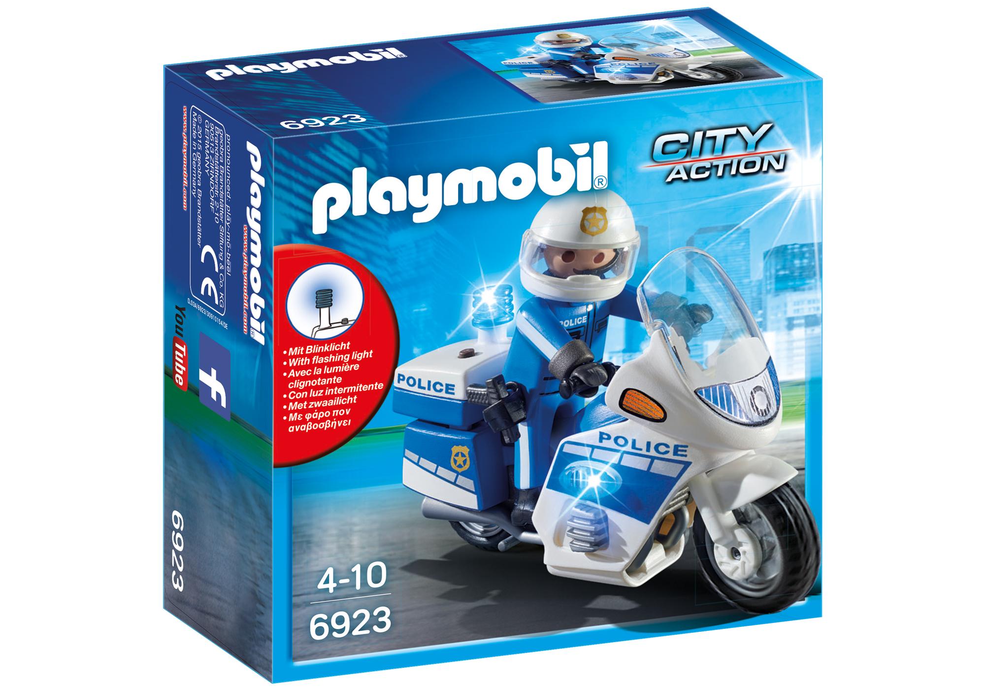 http://media.playmobil.com/i/playmobil/6923_product_box_front/Int. Motorradstreife mit LED-Blinklicht