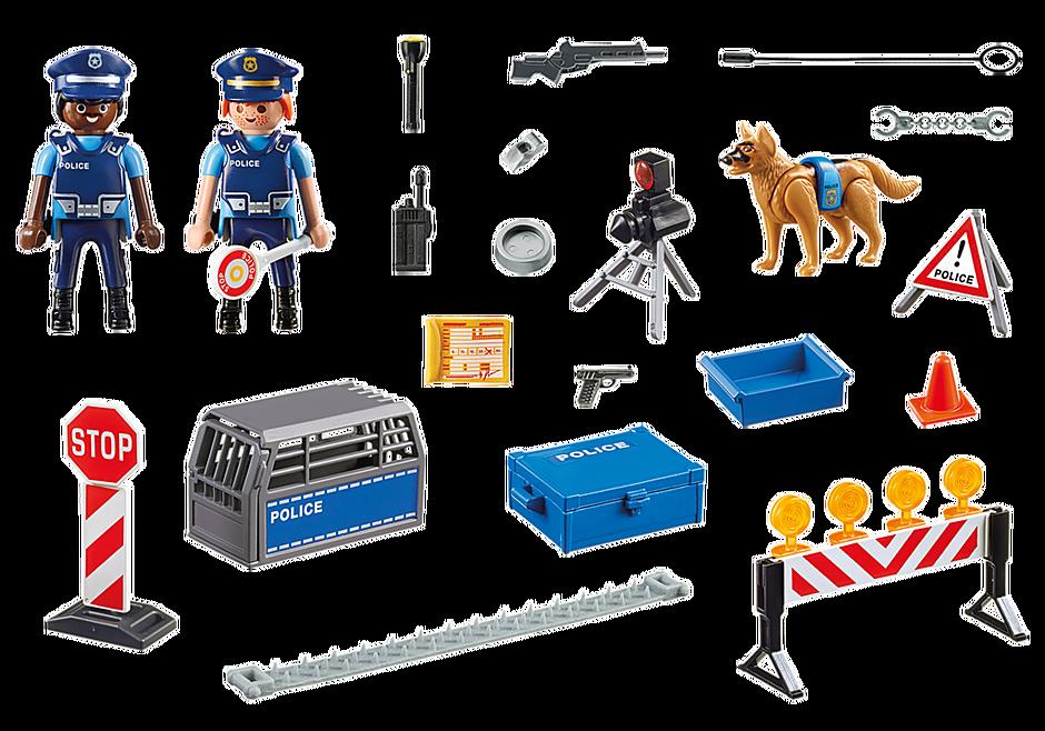 6924 Politie wegversperring detail image 3