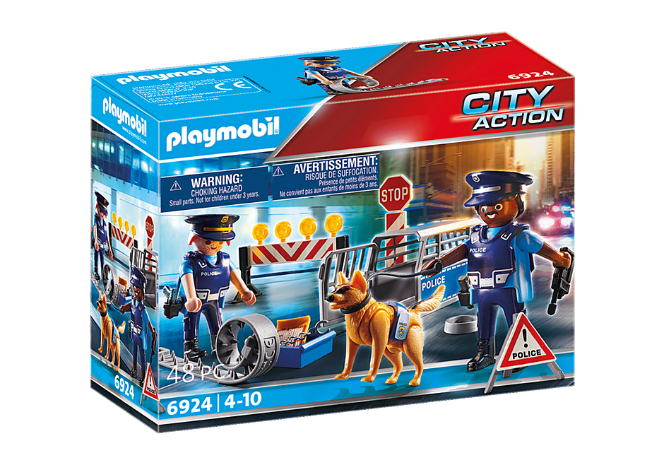 6924 Barrage de police  detail image 2