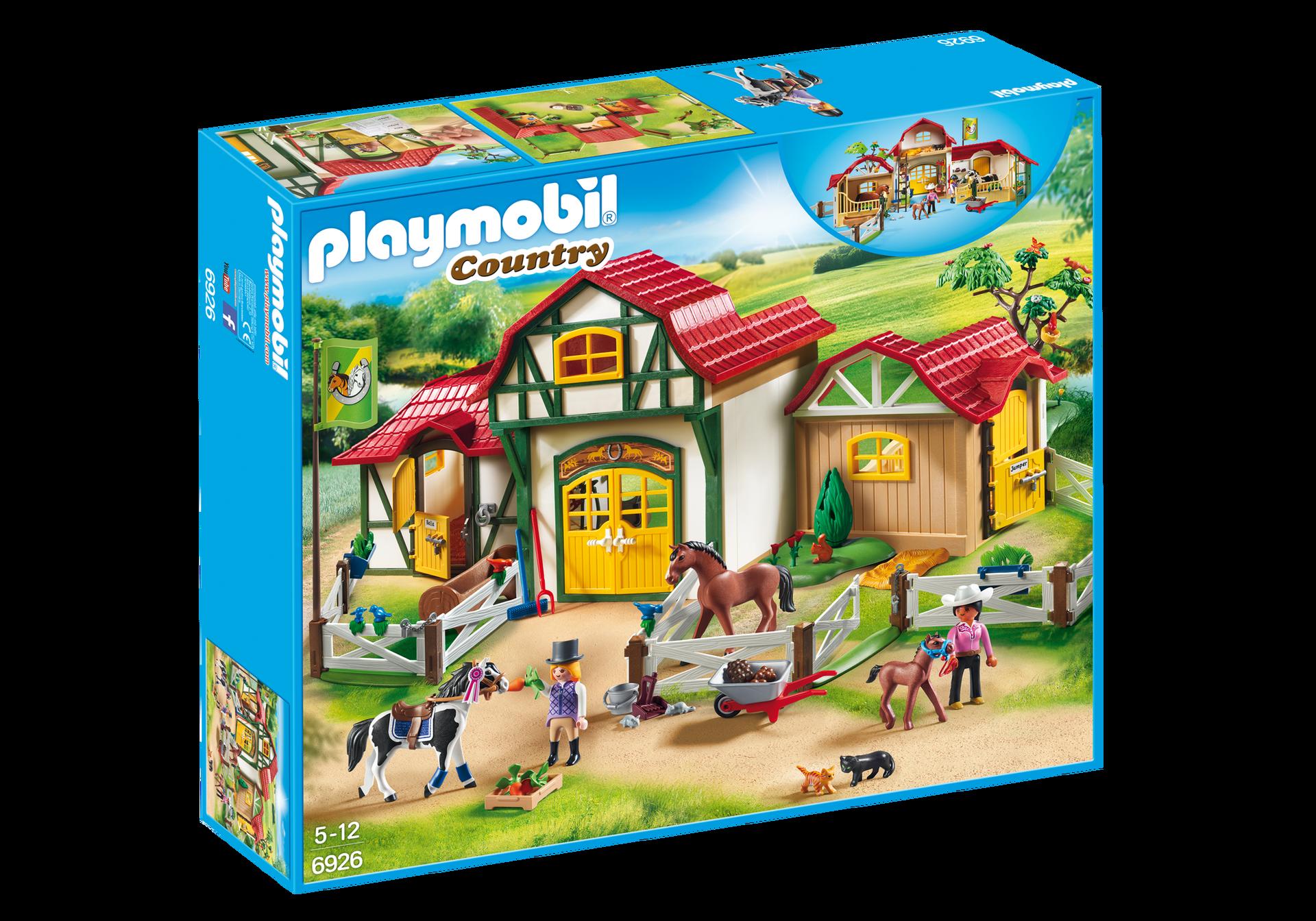 Horse farm 6926 playmobil - Pferde playmobil ...