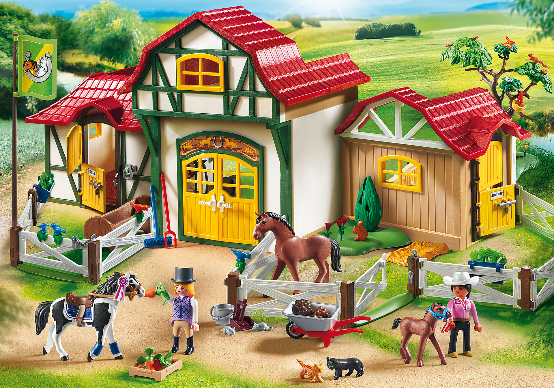 http://media.playmobil.com/i/playmobil/6926_product_detail/Club d'équitation
