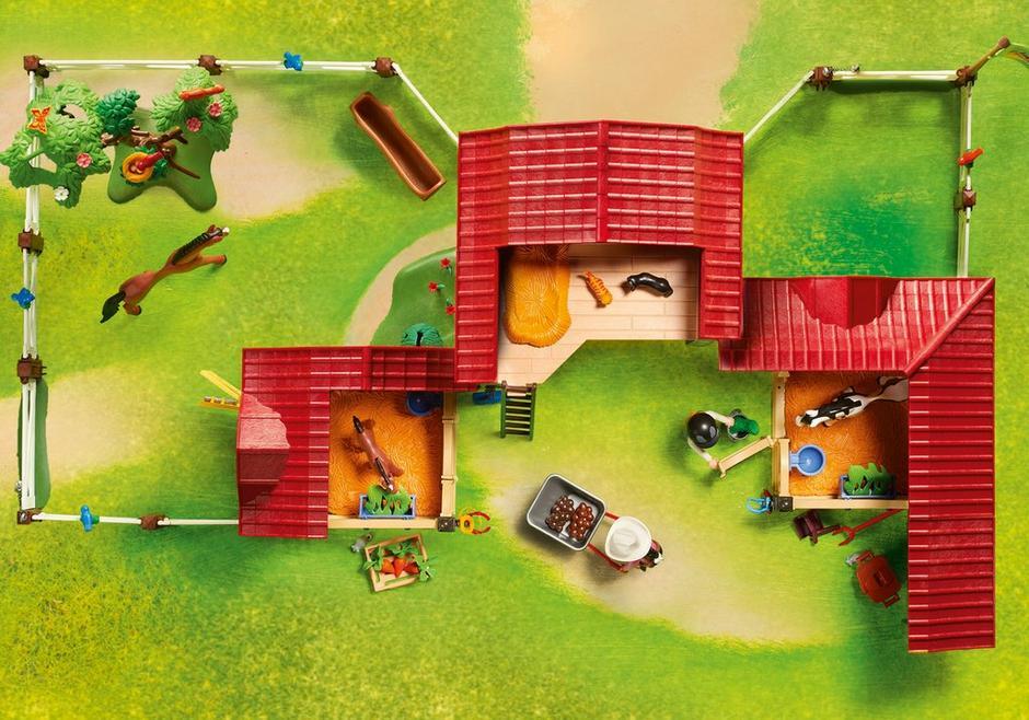 Gro 223 Er Reiterhof 6926 Playmobil 174 Deutschland