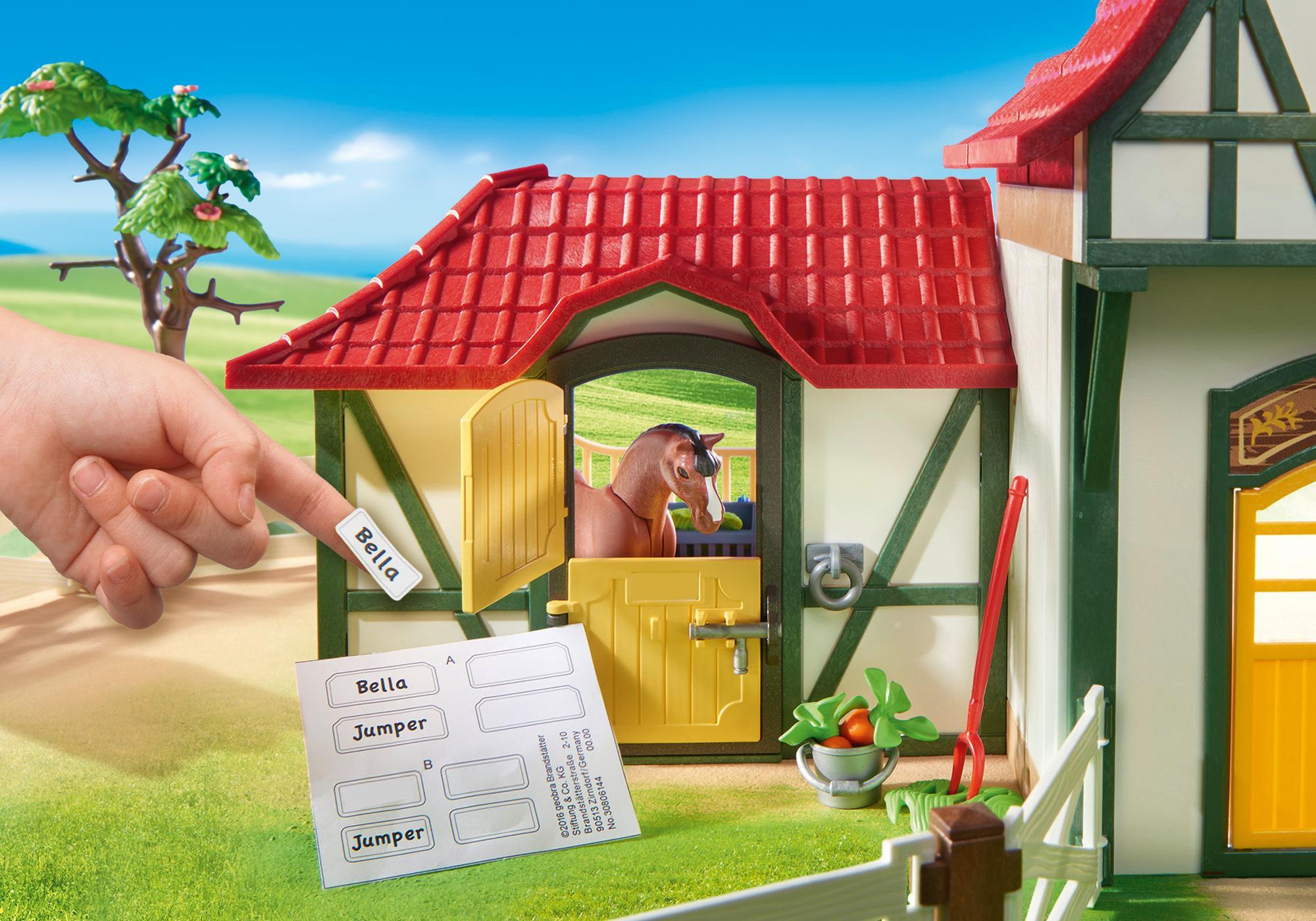 http://media.playmobil.com/i/playmobil/6926_product_extra2/Större ridanläggning