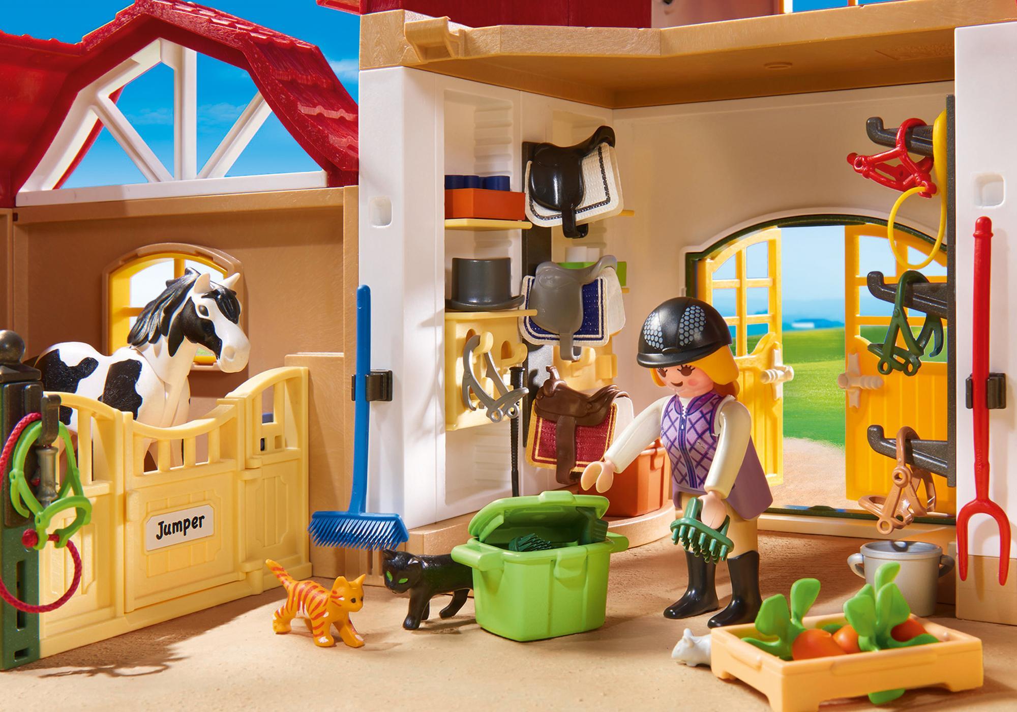 http://media.playmobil.com/i/playmobil/6926_product_extra3/Större ridanläggning