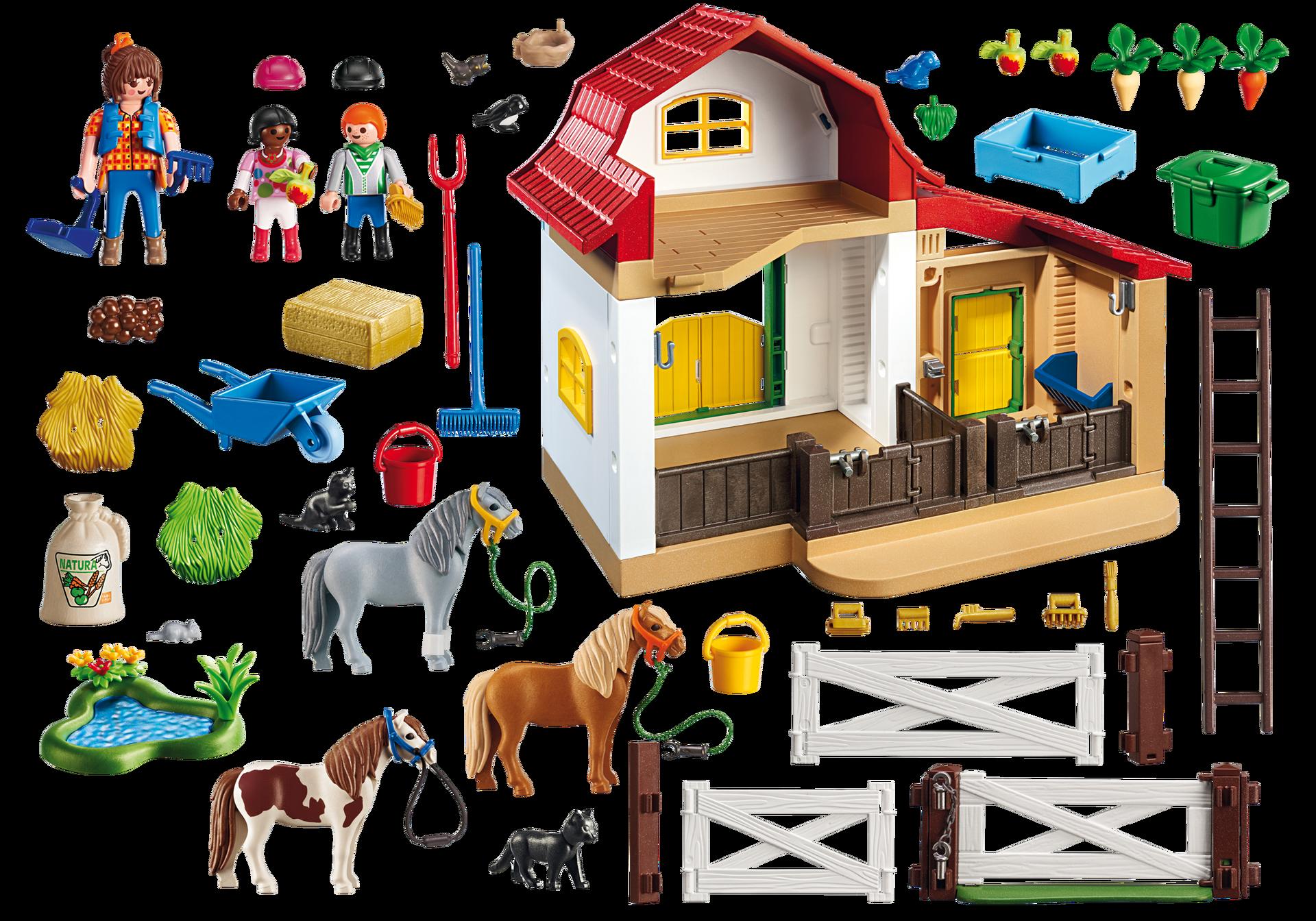 Ponyhof 6927 playmobil deutschland - Playmobil haras ...