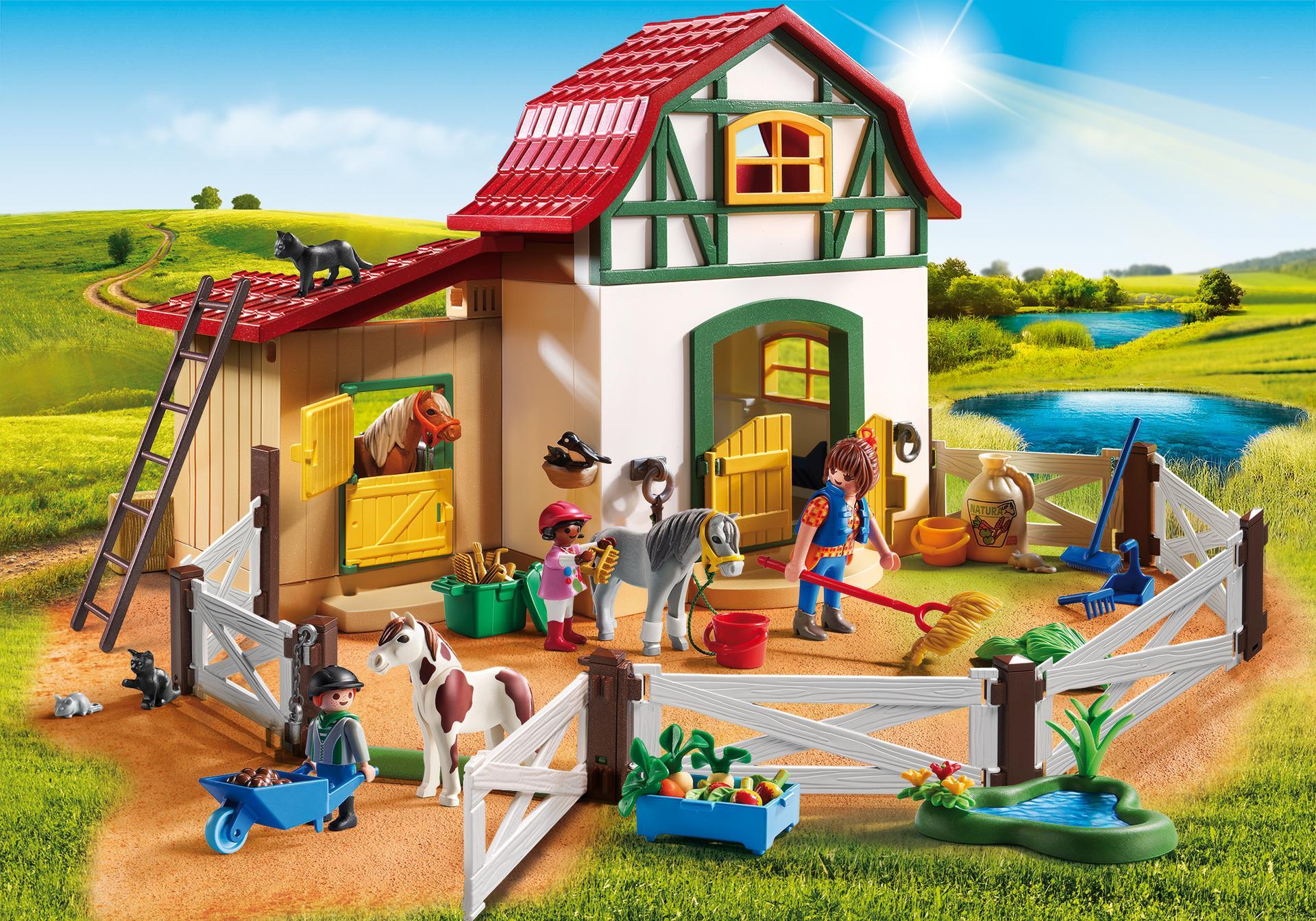 Pony farm 6927 playmobil united kingdom - Pferde playmobil ...