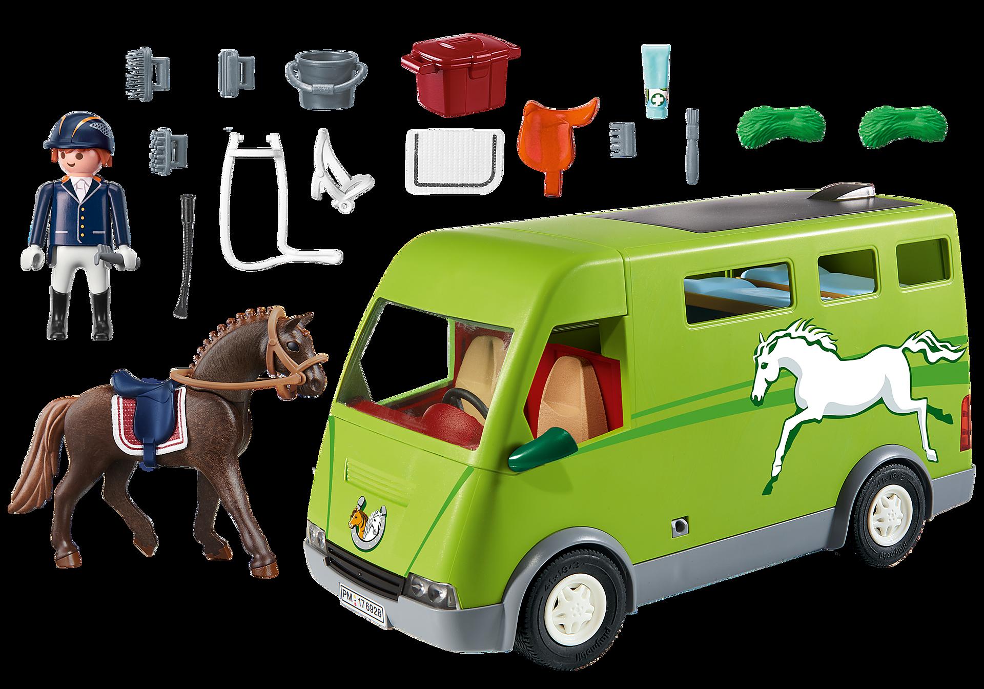 6928 Cavalier avec van et cheval  zoom image5