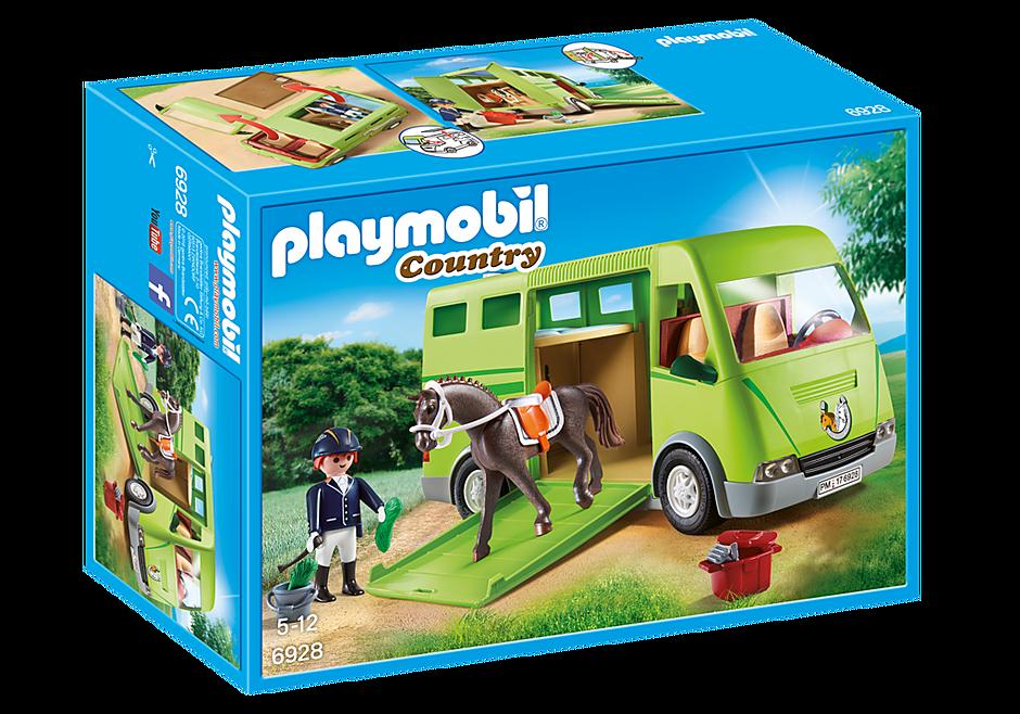6928 Cavalier avec van et cheval  detail image 3