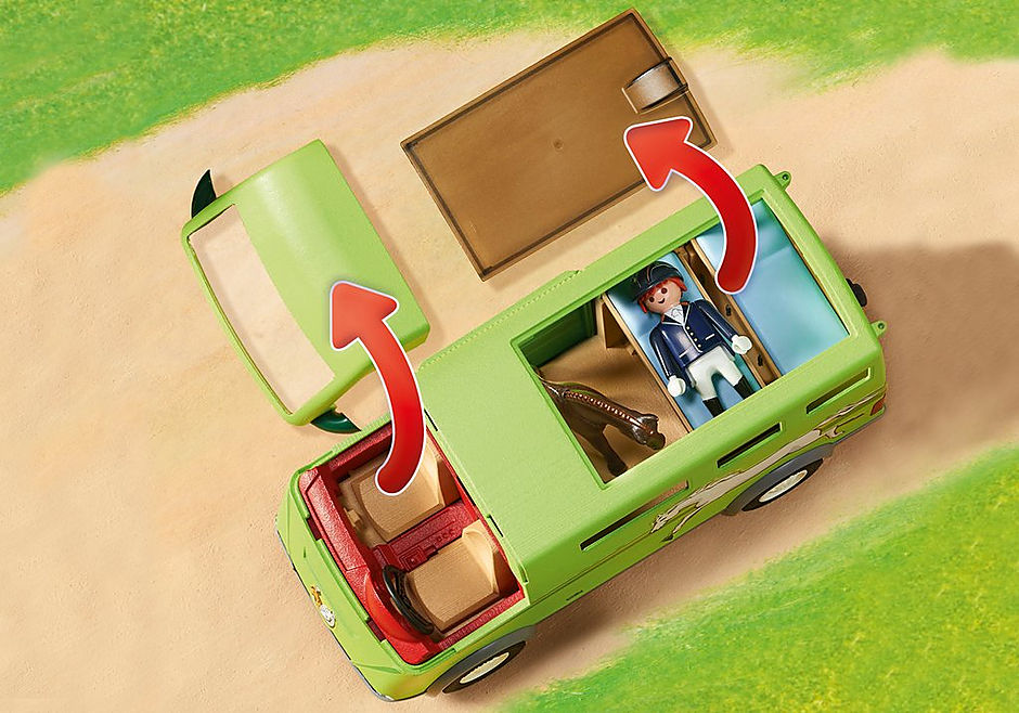 http://media.playmobil.com/i/playmobil/6928_product_extra1/Όχημα μεταφοράς αλόγων