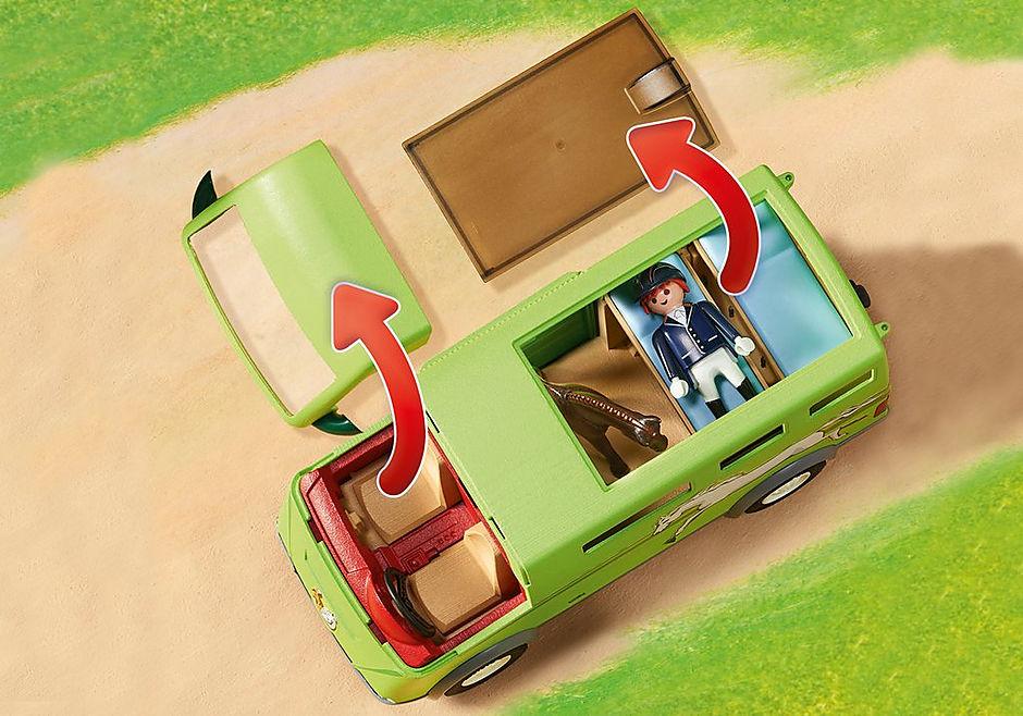 6928 Cavalier avec van et cheval  detail image 6