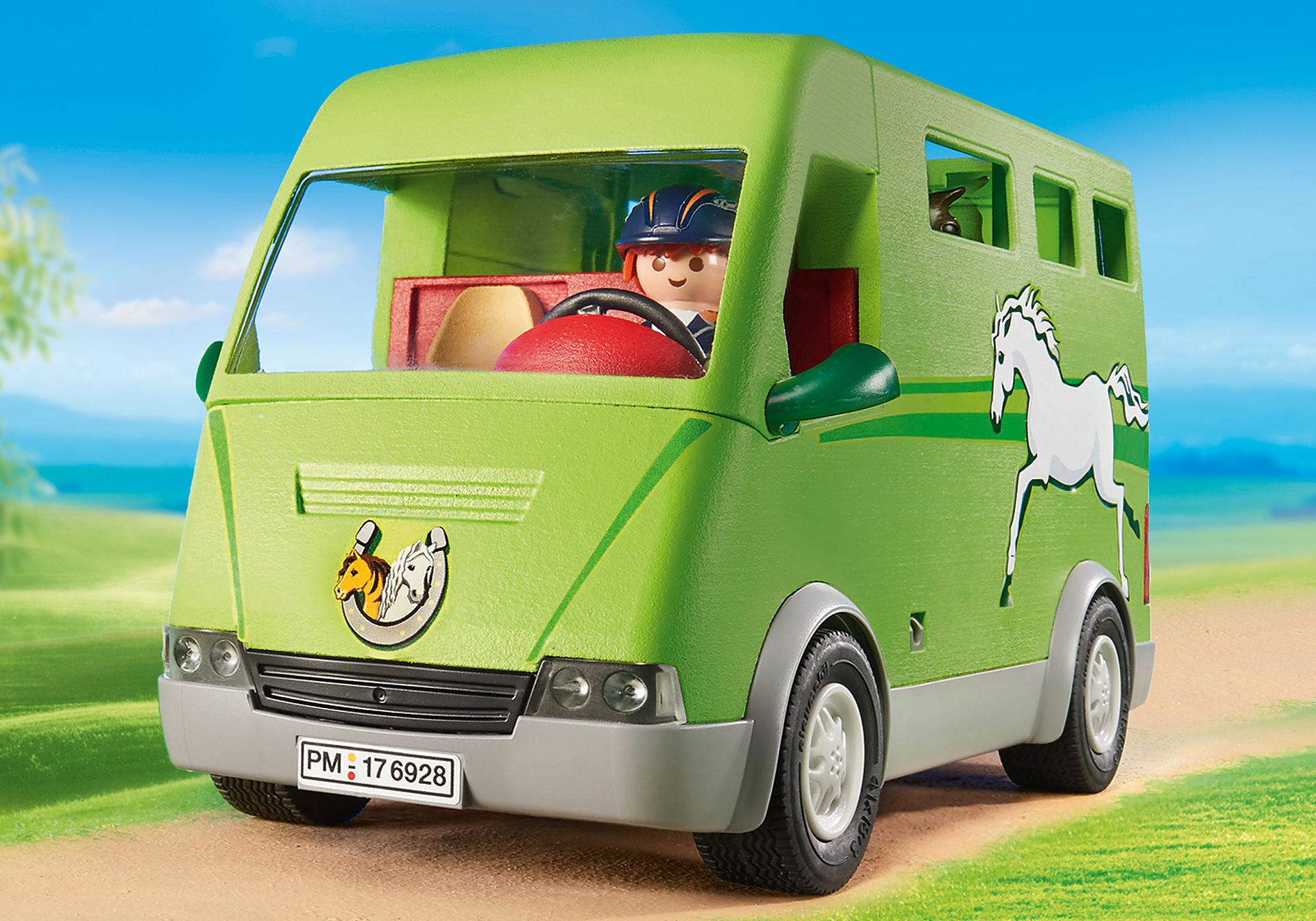 6928 Cavalier avec van et cheval  zoom image8