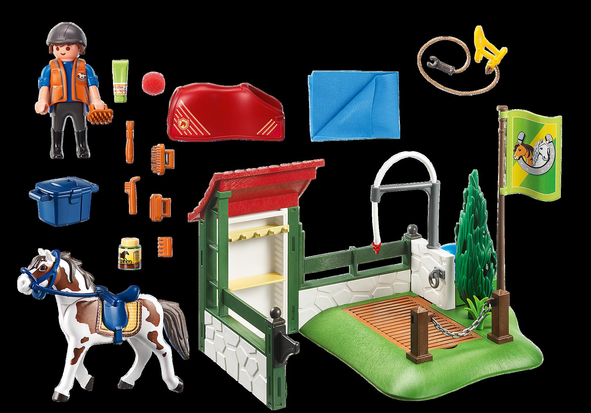 http://media.playmobil.com/i/playmobil/6929_product_box_back/Σταθμός περιποίησης αλόγων